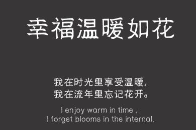 汉标碑石体-字体设计